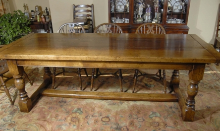 Ch ne r fectoire tableau archives antiquites canonbury for Pied de table en anglais