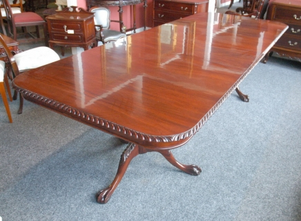 Anglais acajou Chippendale Regency de table Tables