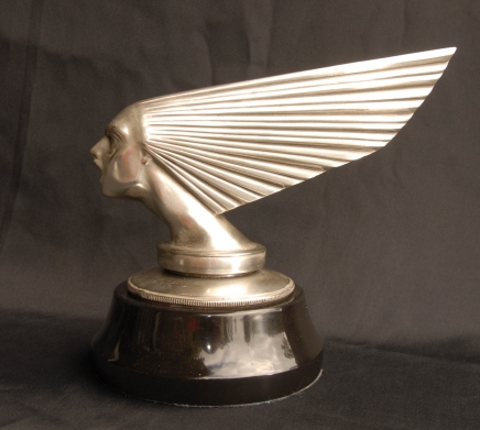 Argent Bronze Lalique Victoire Buste Art Déco