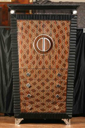 Art Déco Cabinet Coffre Armoire Armoire 1920 Meubles