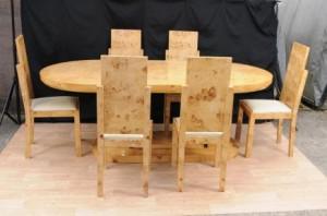 Art Déco Ensemble table et chaises de salle à manger 1920 Interiors