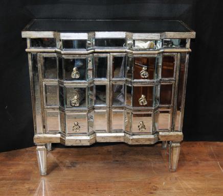 Art Déco Miroir Commode tiroirs miroir Meubles Commodes Cabinet