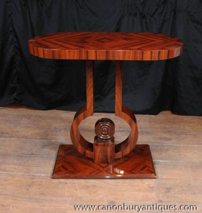 Art Déco Table console Rosewood 1920 Tables Meubles
