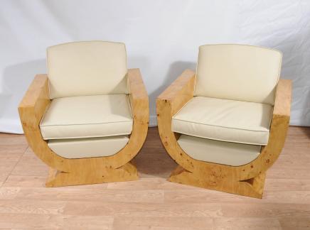 Art Déco club Chaises fauteuils Fauteuil Meuble