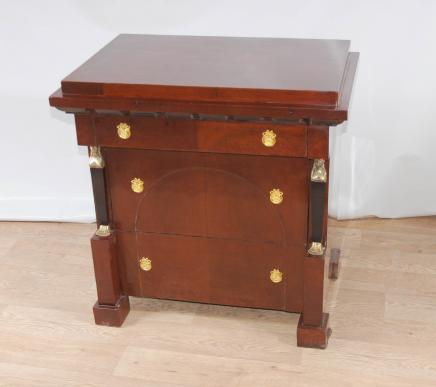 Art déco Biedermeier poitrine tiroirs Commode Commodes Empire Pharo