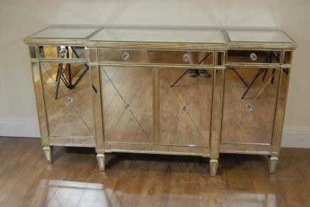 Art d co miroir meubles archives antiquites canonbury for Miroir buffet