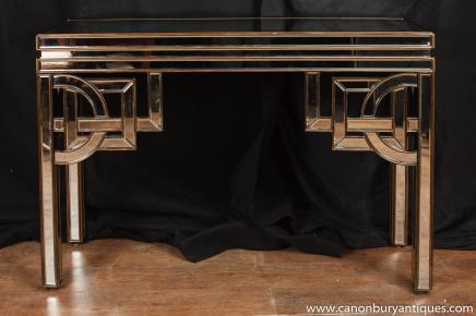 Art déco miroir Console Table Salle Tableaux 1920 Meubles