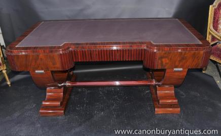 Big Art Déco des années 1920 Partenaires bureau Écriture Bureau Table Mobilier de bureau