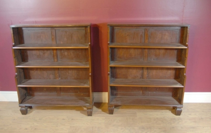 biblioth ques de r gence archives page 2 of 3 antiquites canonbury. Black Bedroom Furniture Sets. Home Design Ideas