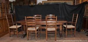 Ferme cuisine Set présidents Réfectoire Set de table Ladderback