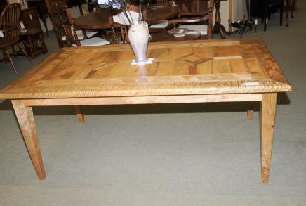 Ferme table de cuisine en bois de mangue Réfectoire