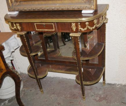 Néoclassique Empire Table console Buffet