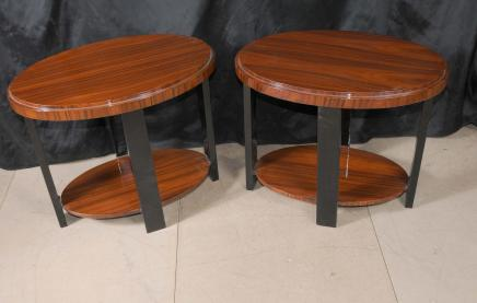 Paire déco moderniste Side Tables Meubles
