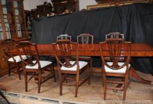 Regency Ensemble repas Table président Suite présidents 8 Shieldback