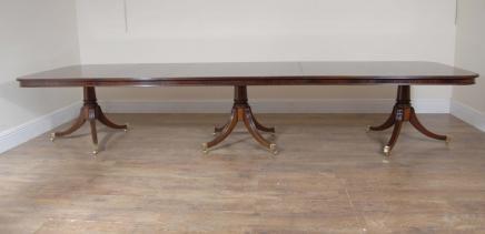 Regency Triple pied Sièges de table 14