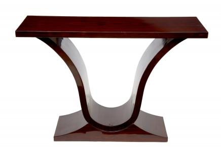 Rosewood Oggee Art Déco Table console Salle Tables Meubles