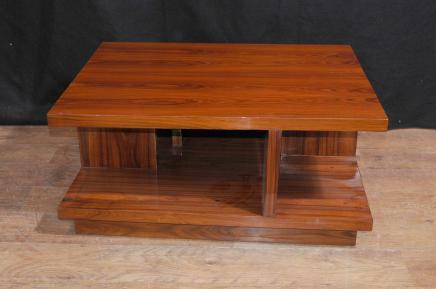 Table Art Déco Café Rosewood Meubles Modern Vintage