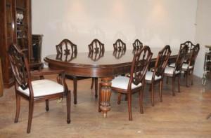 Table de salle à manger Victorienne Set 10 présidents fédéraux Suite