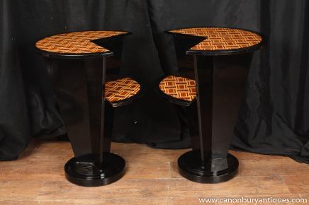 Tableaux Art Déco gradins secondaires laque de finition de meubles