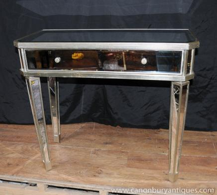 Tables miroir salle Console Table secondaires Miroir Déco Meubles