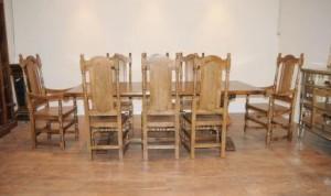 William Mary président Ferme Réfectoire Table de salle à dîner