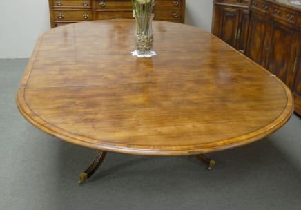 8 pieds français rustique Table extensible à manger