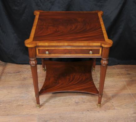 Regency Extension Table d'appoint Meubles en acajou