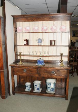 7 pi Pays Oak Welsh Dresser Pot Conseil Armoires