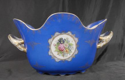 Allemand vaisselle en porcelaine de Dresde Planteur Bowl