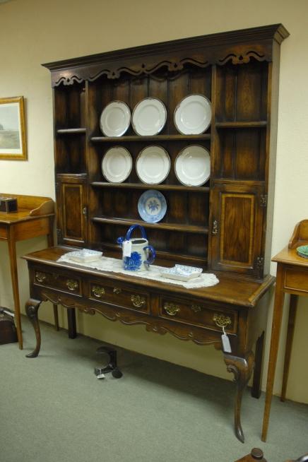 Anglais Shropshire Oak Vaisselier Potboard