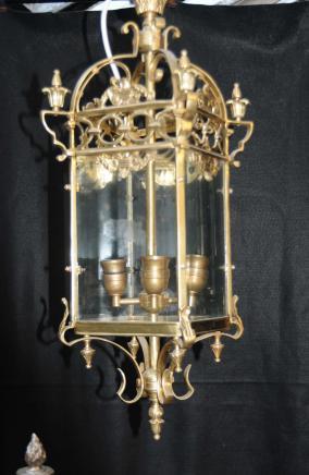 Cuivres Français Lanterne Lustre Lampes