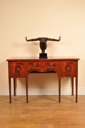Edwardian Acajou Buffet Commode Desserte