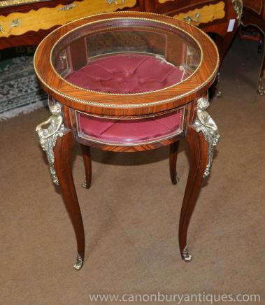 Empire français Affichage Tableau Cabinet à bijoux Bijouterie Side