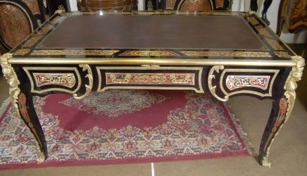 boulle bureau archives antiquites canonbury. Black Bedroom Furniture Sets. Home Design Ideas