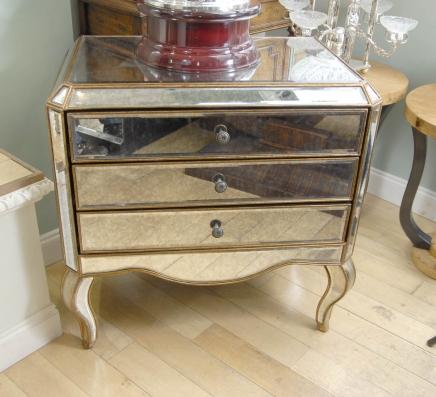 miroir art d co commode tiroirs commode miroir mobilier. Black Bedroom Furniture Sets. Home Design Ideas