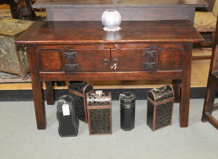 Oak Oak jacobin 17ème siècle Commode Buffet Ferme