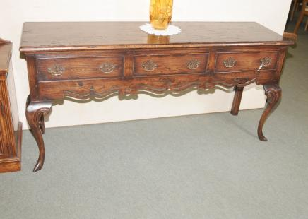 Pays Oak Cab Leg Commode Buffet anglais