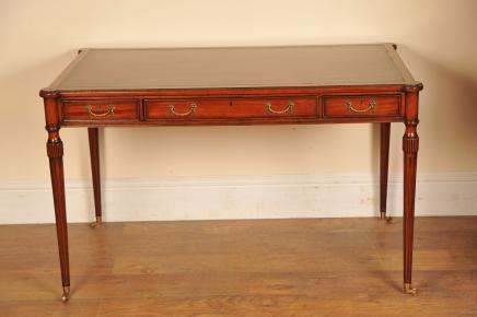 Regency bureau Table acajou Gillows