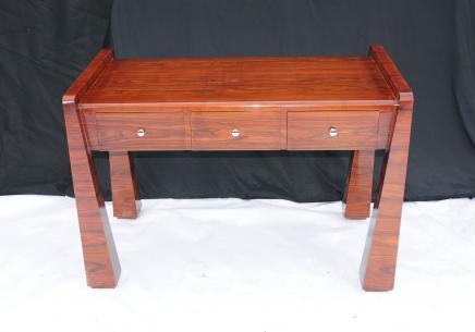 Rosewood Art déco des années 1920 de bureau Mobilier de bureau Table d'écriture