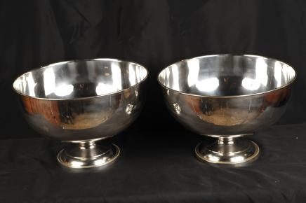 Sheffield Silver Plate Wine Cooler Punch Bowl