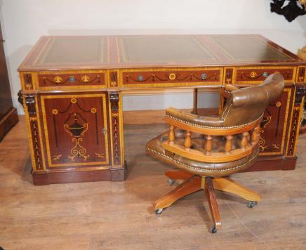 Sheraton Partenaires bureau Table Regency Inlay Bureau