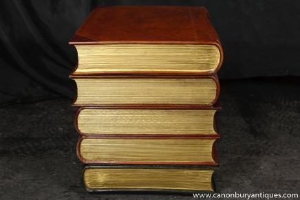 Table de chevet antique livre Side Table Chevet