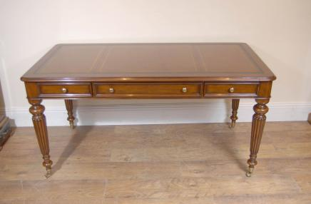 Victorienne anglaise Gillows bureau Bureau Table