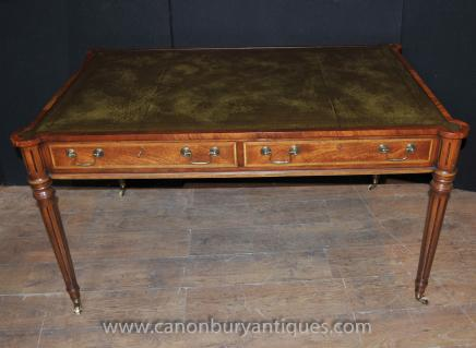 Regency Gillows Tableau écriture Desk Office Acajou Bureau