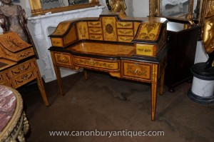 Regency Carlton House bureau Table Burea Plat