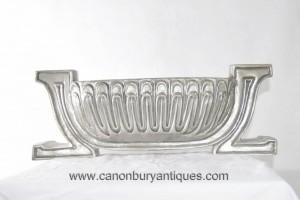 Art Nouveau Argent Bronze Platter Urne Vase Centrepiece Centerpiece