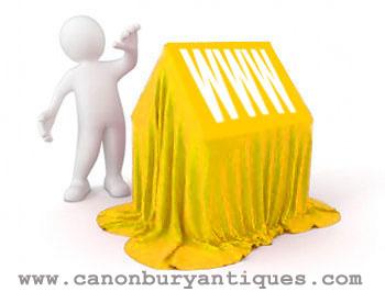 Canonbury Antiques - nouveau site Web lancé avec les versions mobiles et tablettes
