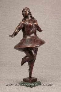 Bronze Danseur de ballet Statue Figurine Botero