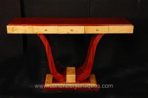 Vintage Art déco de table Console 1920 Tables Meubles Intérieurs