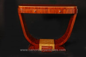 1920 Rosewood Art Déco Table console Oggee Meubles Vintage